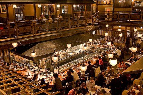 tokyo kill bill restaurant