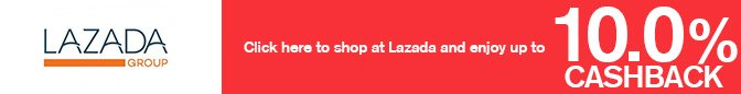 Get Lazada cashback, deals, coupons & promo codes
