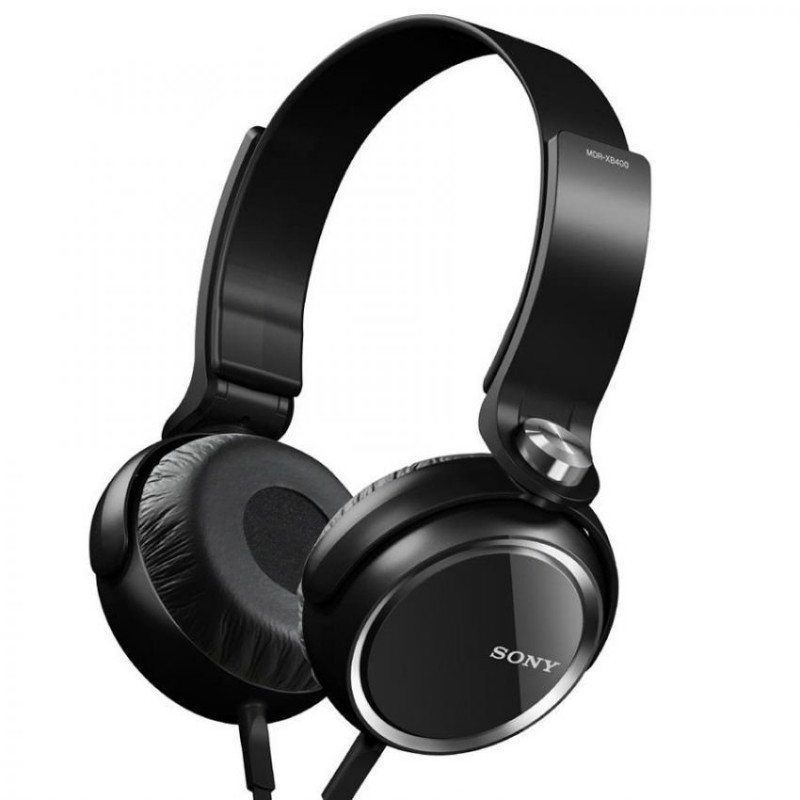 Sony XB400 Stereo Overear Headphone Black