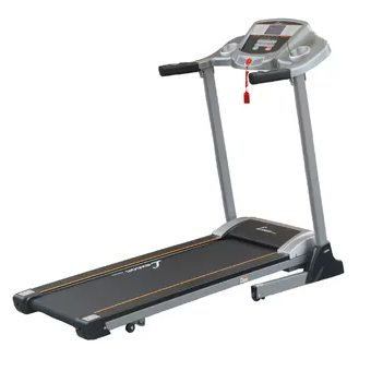 Motorized Folding Treadmill Running Machine with Body Fat Test (Grey)