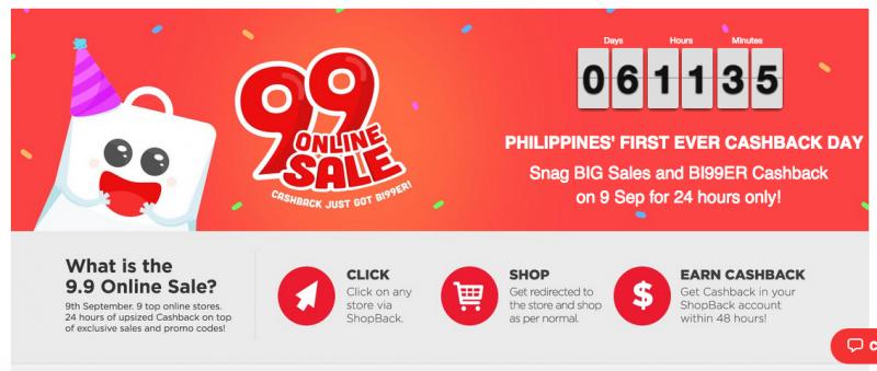 9.9 Online Sale
