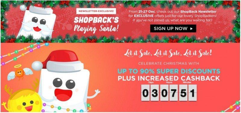 Christmas Sales-ShopBack
