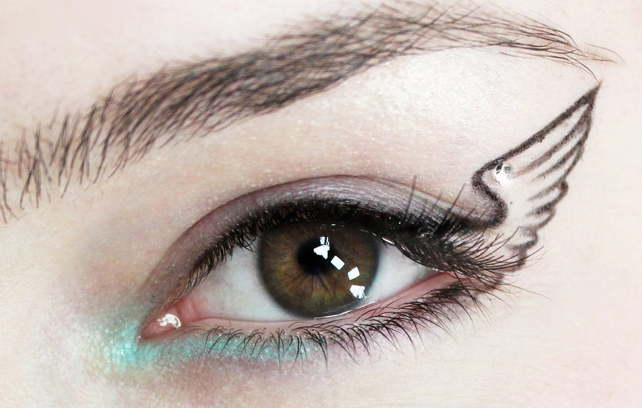 how to do winged eyeliner tumblr