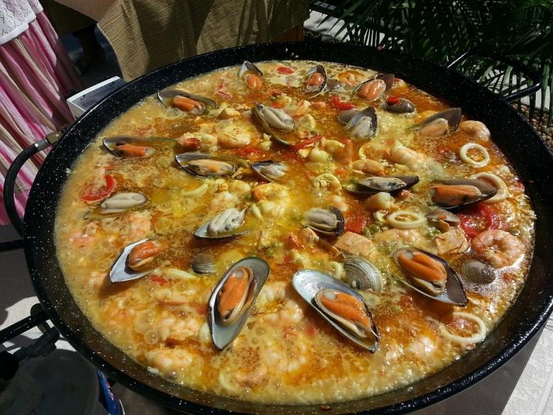 Espanjalainen Paella
